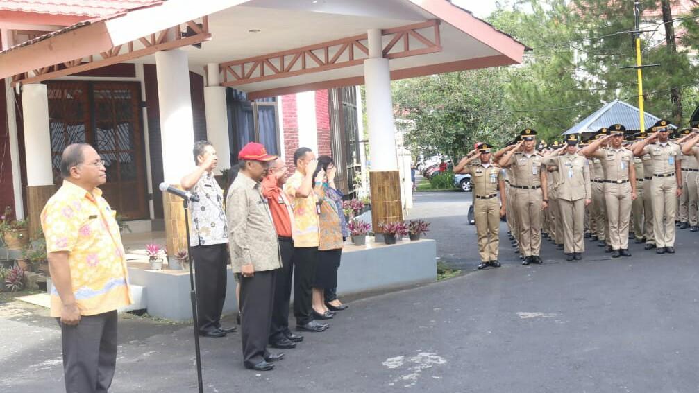 Lolowang Sambut Praja IPDN Kampus Sulut