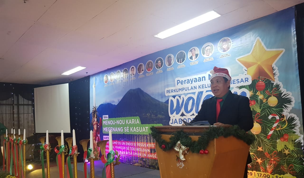 Warga Woloan se-Jabodetabek Rayakan Natal Bersama