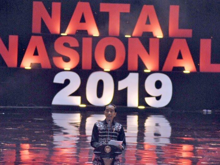 Perayaan Natal Nasional 2019, Jokowi: Berbeda Agama, tapi Tetap Bersahabat