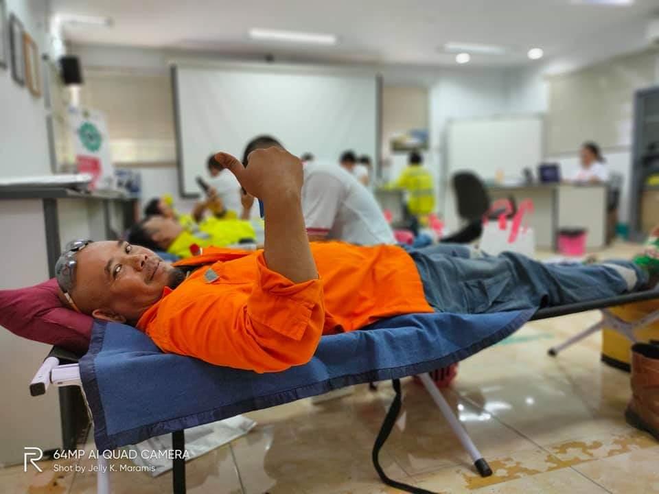 Peringatan Bulan K3 Nasional 2020: 70 Peserta dari PT MSM/TTN Berkontribusi Lewat Donor Darah