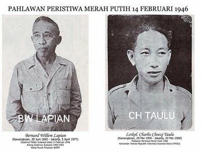 Mengenang Peristiwa Merah Putih 14 Februari 1946 di Manado