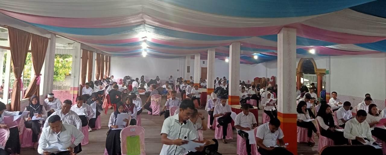 60 Peserta Lulus Ujian Tes Tertulis Calon PPK Pilgub Sulut Tahun 2020