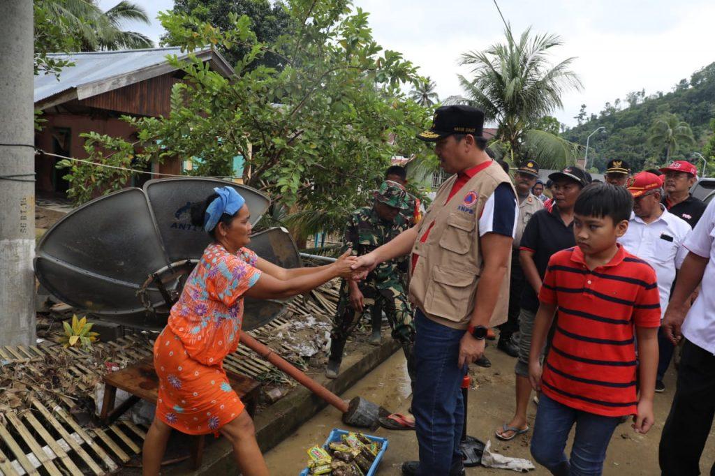 Rumah Rusak Berat Akibat Bencana Bolmut akan Dibangun Pemprov Sulut