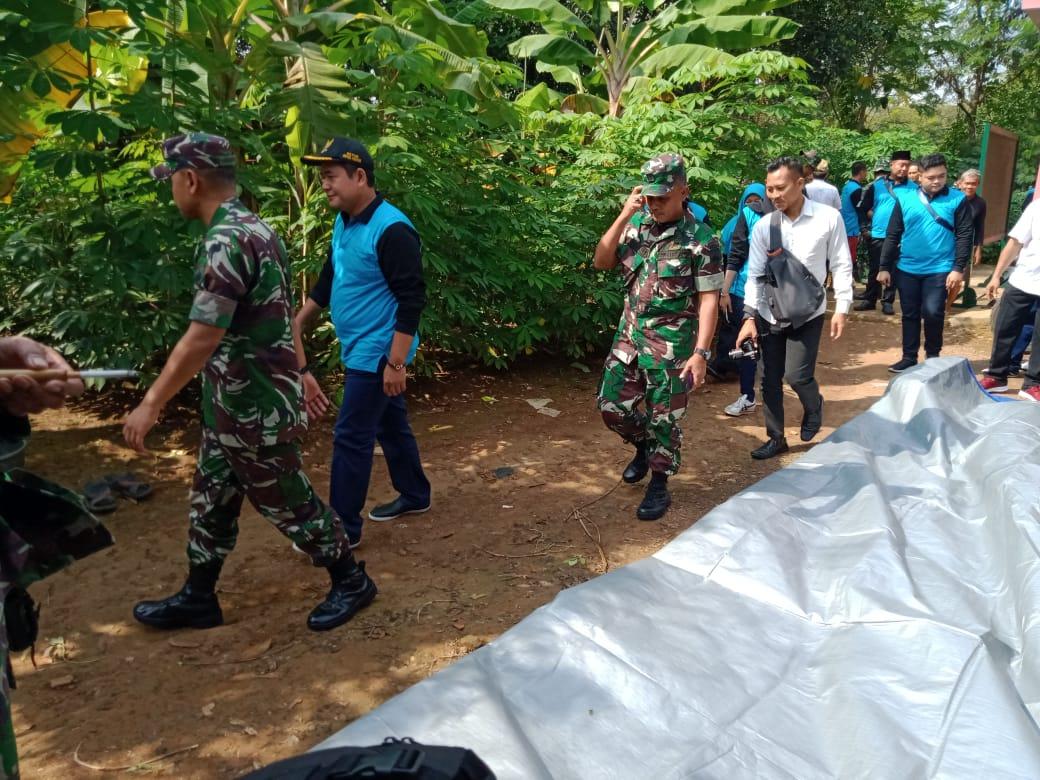 Dandim Kudus Bersama Ketua DPRD, Tinjau lokasi RTLH.