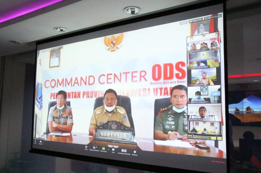 Tidak Ada Lockdown, Ini 9 Poin Hasil Rapat Teleconference Gubernur se-Sulawesi
