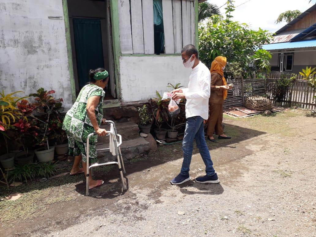 Hasrat Rahman Ismail,  Ringankan Beban Hidup Warga Kurang Mampu