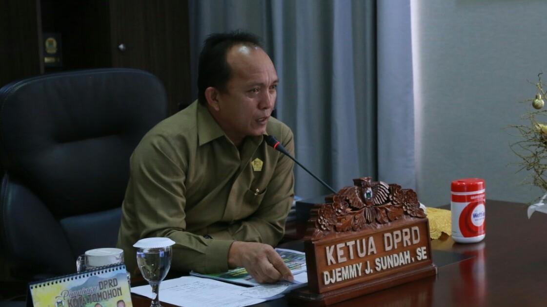 Hadapi Covid-19, Djemmy Sundah Ajak Masyarakat Sabar dan Taat Anjuran Pemerintah