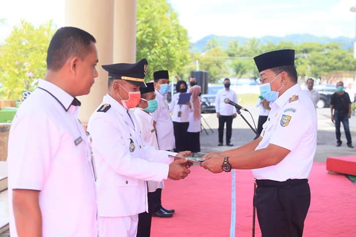 Bupati Bolmut Kembali Roling 4 jabatan Administrator Eselon III