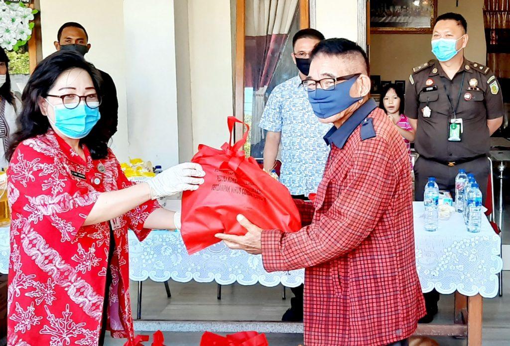 Pemprov Sulut Sudah Salurkan 108.120 Paket Bantuan Sembako