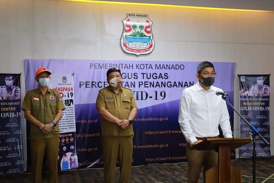 Pos Kontrol Kesehatan Masuk Kota Manado Ditiadakan