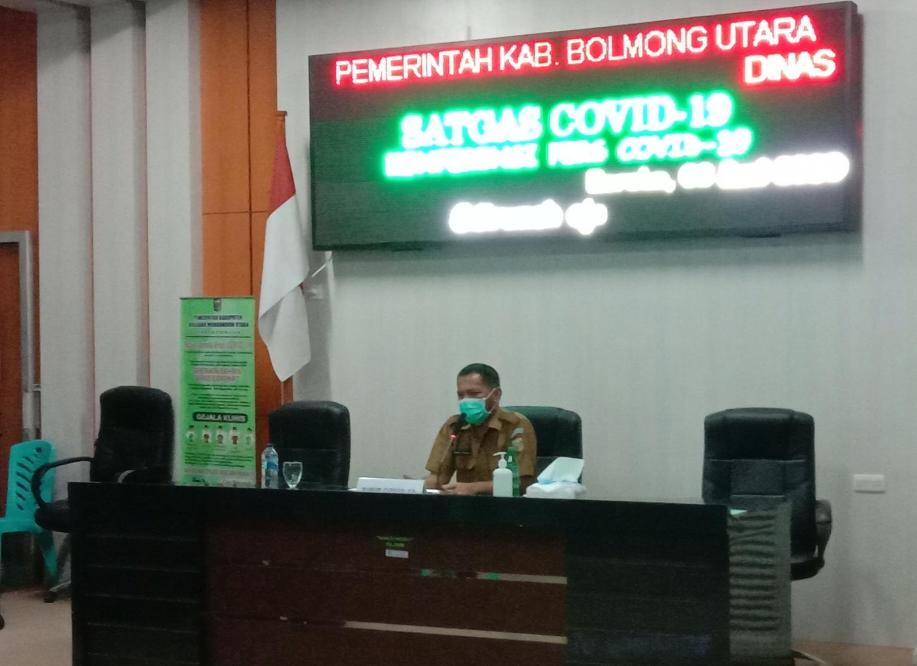 Sembilan Hari Dirawat Kondisi Pasien 03 Covid 19 Bolmut Dalam Keadaan Baik