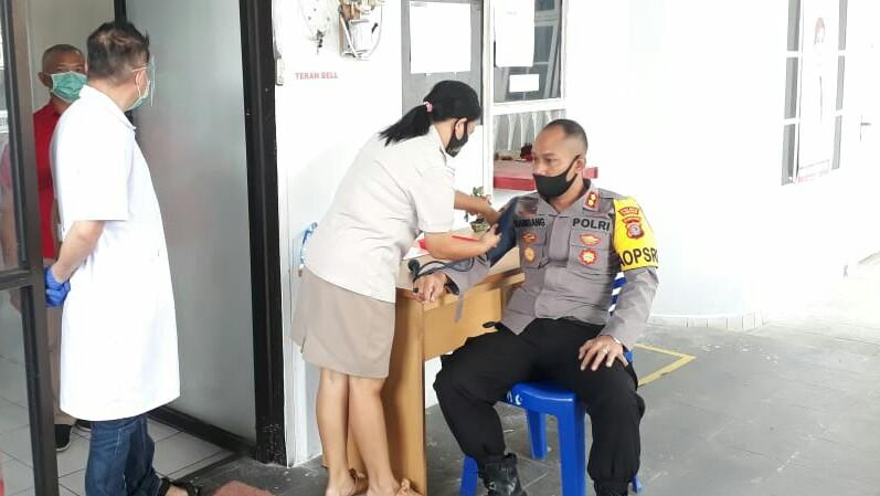 Polres Tomohon Gelar Aksi Donor Darah