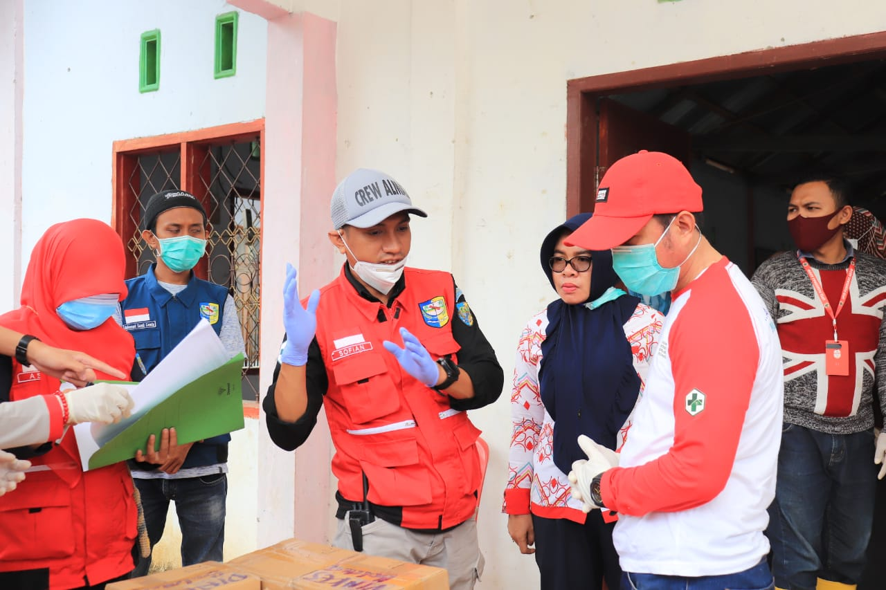 TGC Dinkes Bolmut Bantu Pelayanan Kesehatan Warga Terdampak Banjir dan Longsor Bolsel