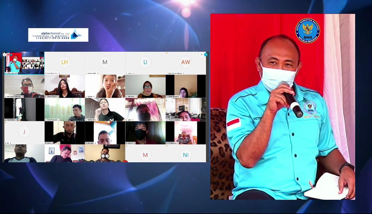 BNNP Sulut Sukses Gelar Kampanye Akbar P4GN