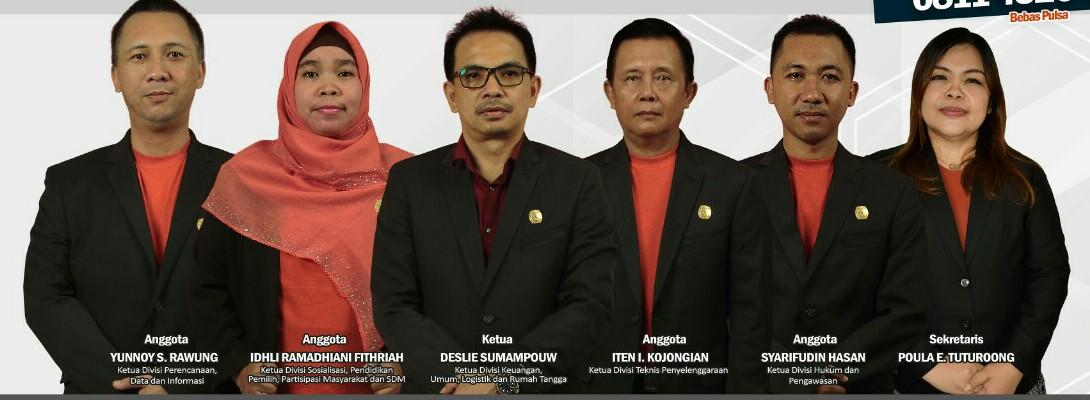 KPU Bitung Umumkan Syarat Pendaftaran Pasangan Calon Wali Kota dan Wawali Kota Bitung Tahun 2020