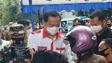 Gerakan Sulut Sejuta Masker, Caroll Ajak Warga Jalankan Prokes