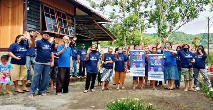 Tim Relawan VAP Berbagi Sembako di Ranomerut