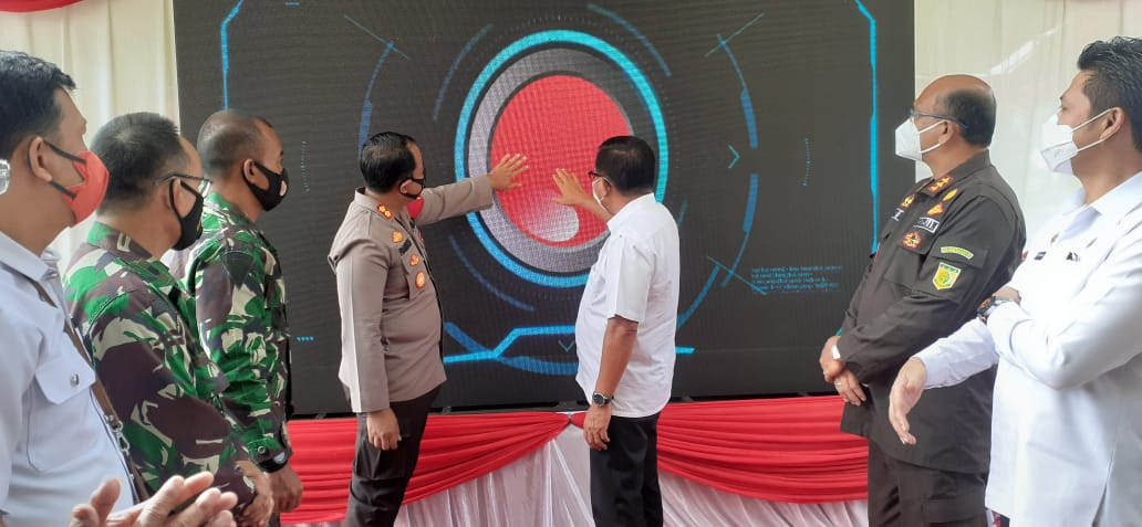"Untuk Meningkatkan Pelayanan Terhadap Masyarakat, Polres Bitung Launching Aplikasi ""Si Mapalus"""
