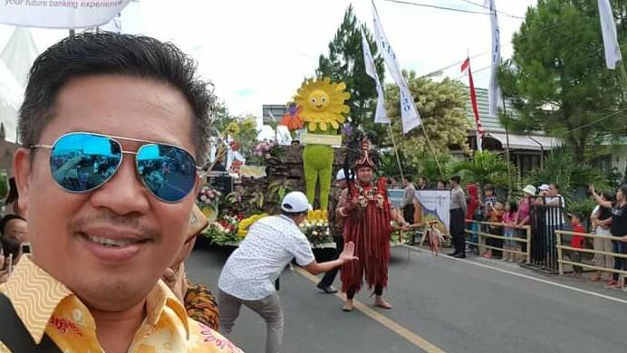 Dumais Gagas Konsep Strategis Wujudkan Tomohon Kota Bunga