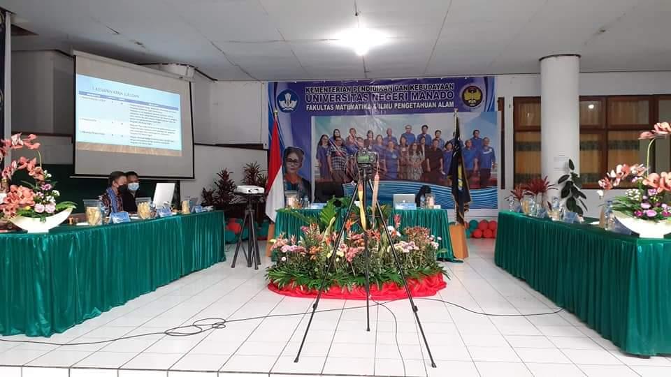 Salah Satu Fakultas Terbaik, Rektor Katuuk Apresiasi FMIPA Unima.