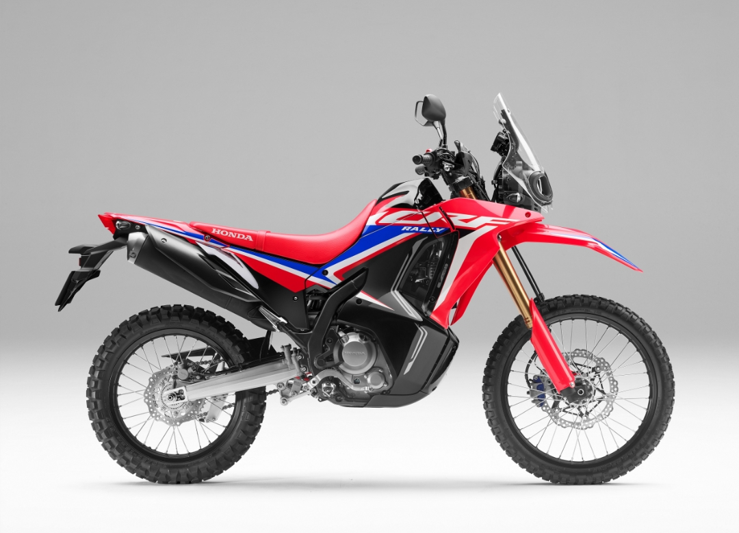 Motor Adventure Tourer, 'Honda CRF250 RALLY' Hadir Lebih Tangguh