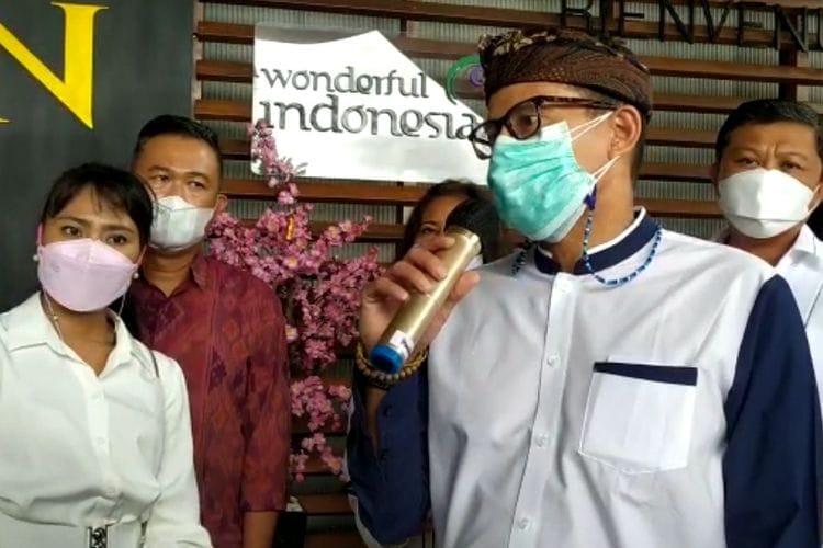 Jemput Menteri Sandiaga Uno, Pokdarwis Minsel dan Minut Siap Bangun KEK Likupang.