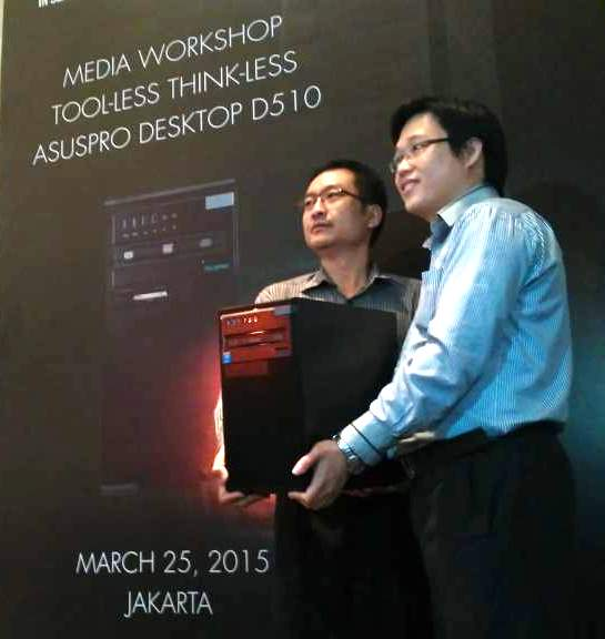 ASUSPRO PC, PC Desktop D510MT Performa Tinggi untuk  Small Medium Business