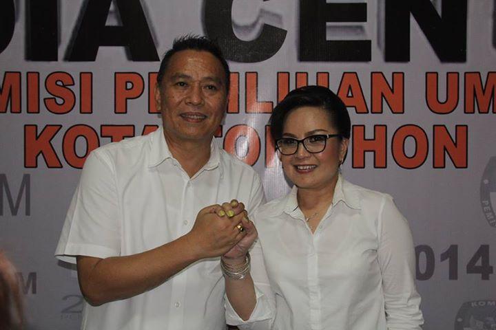 Pasangan Jimmy F Eman dan SAS Resmi Mendaftar Ke KPU Dari Calon Independen