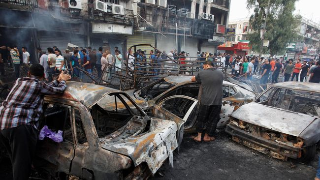 Korban Bom Bunuh Diri Baghdad Capai 292 Orang