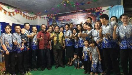 Semangat Kebersamaan di Perayaan Natal Kawanua Touliang Oki Papua