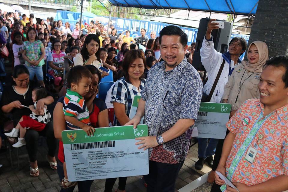 532 Keluarga Miskin di Wanea Terima Bantuan Dana PKH