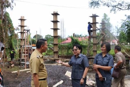 Eman dan Sepang Pantau Pembangunan Gedung FKUB