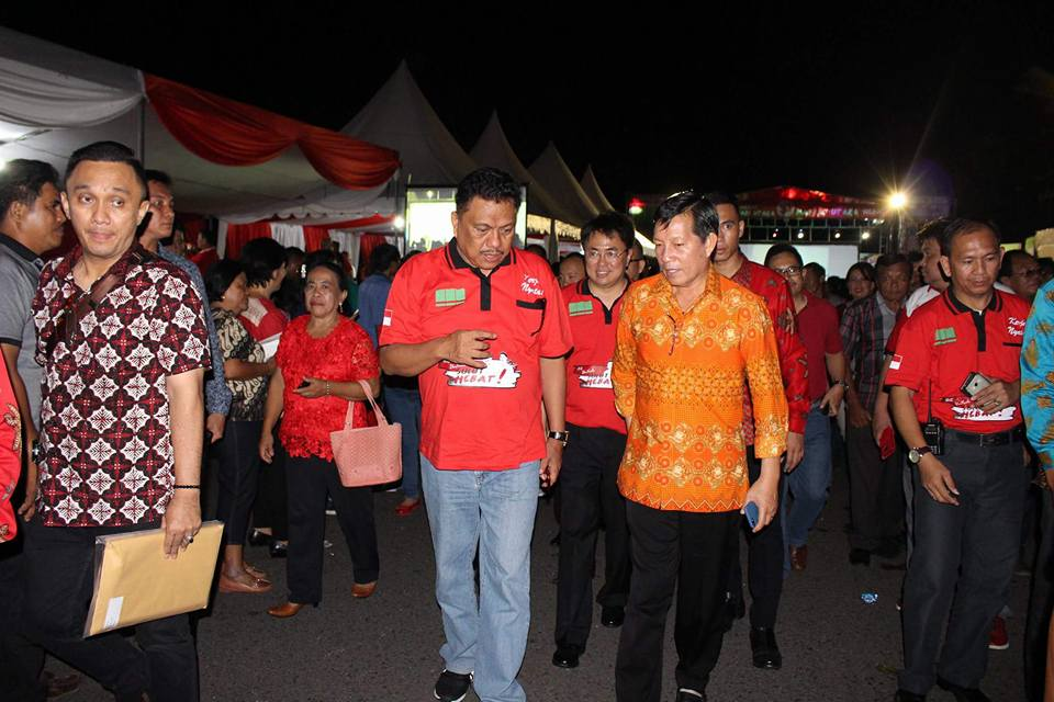 Sukses Manado Fiesta 2017, Area Boulevard Sindulang Jadi Lokasi Pesta Rakyat HUT Provinsi