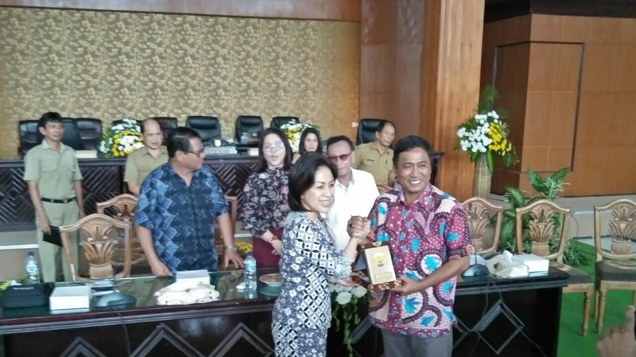 Wenur Cs Sambut Kunker DPRD Kabupaten Grobogan Jateng