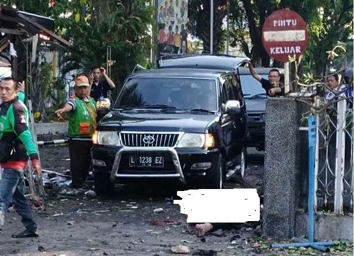 Korban Bom Gereja di Surabaya Sudah 8 Tewas, 38 Luka Berat