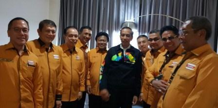 Partai Hanura Sulawesi Utara Siap Menangkan Jokowi