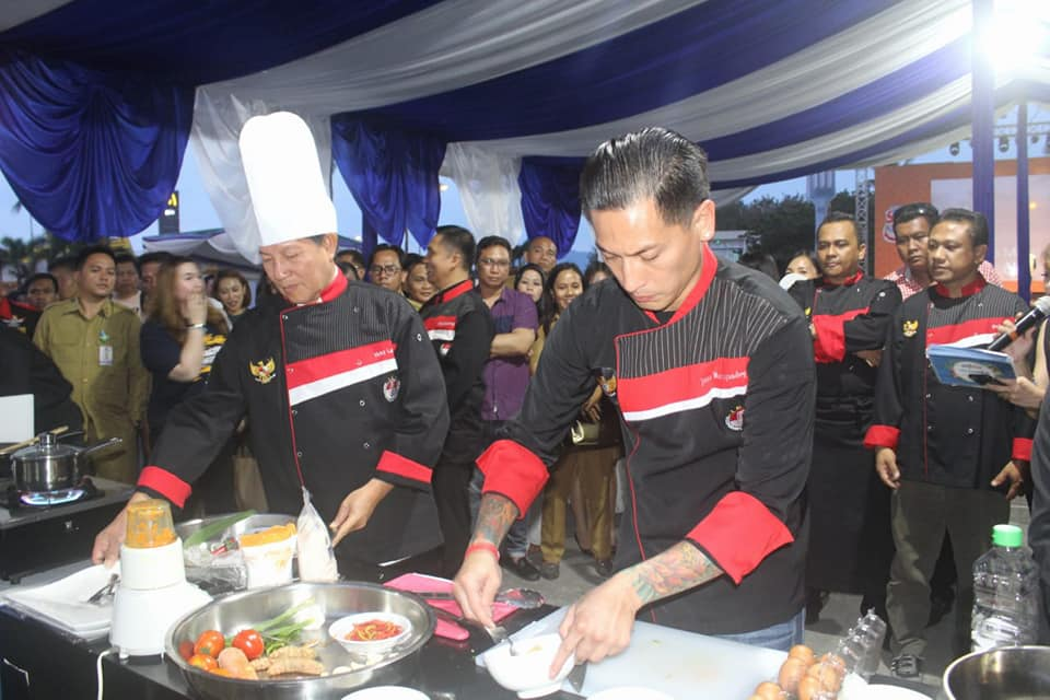 Ikan Tuna Jadi Favorit di Festival Food Manado Fiesta 2018