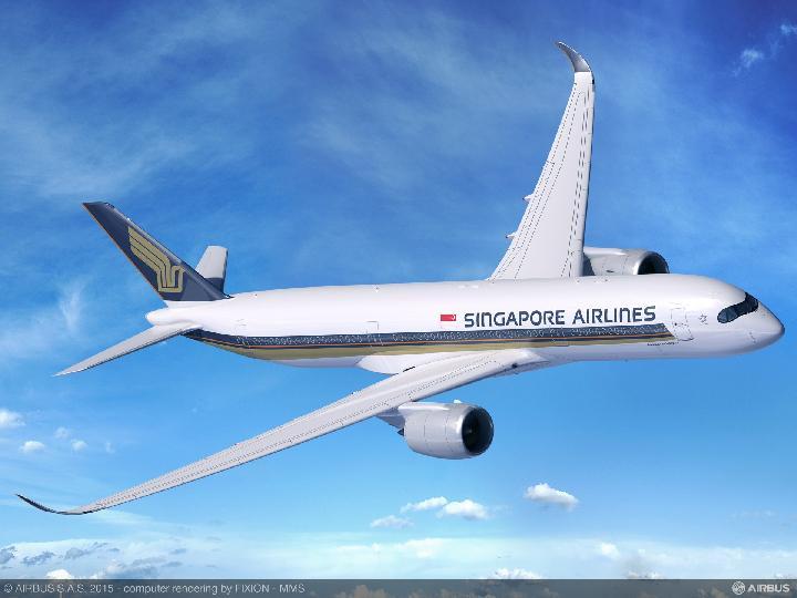 Rute Singapura-New York Jadi Rekor Penerbangan Terpanjang di Dunia