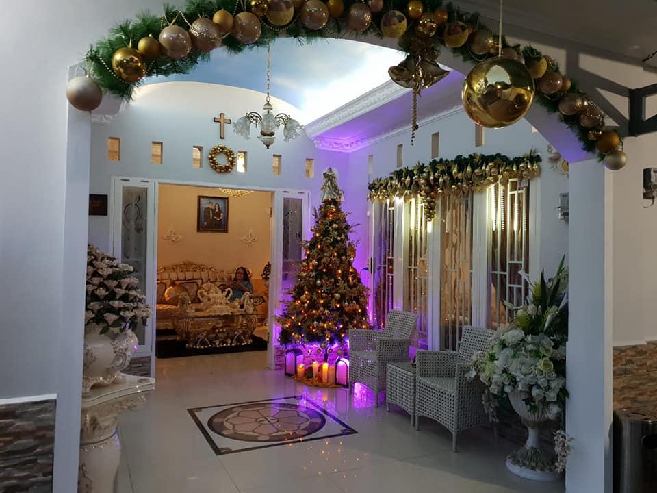 Natal So Dekat, Yuk Contek Dekor Natal ala Keluarga Pangalila-Sumajow