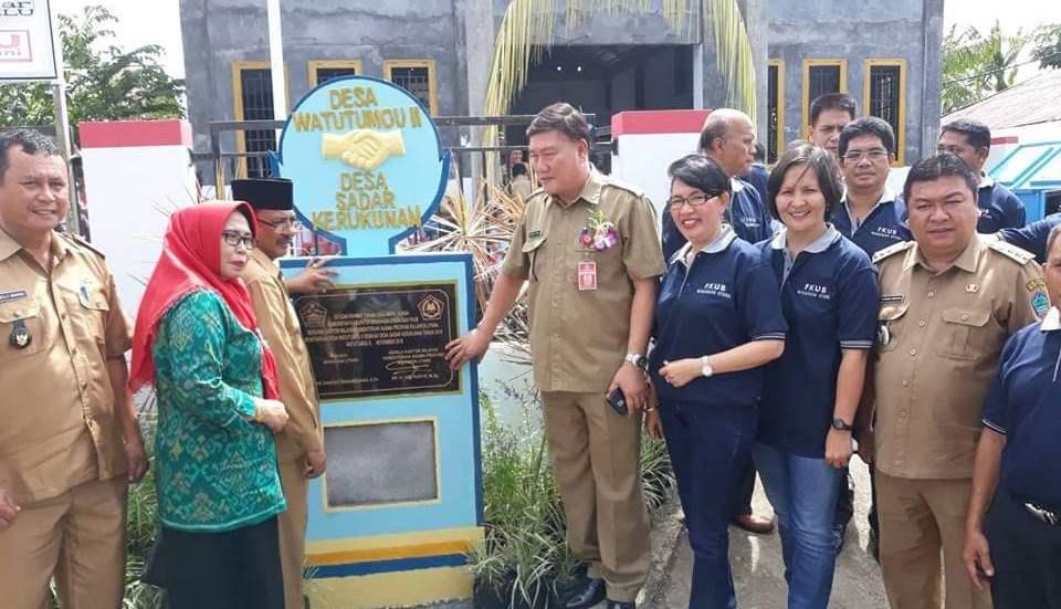 Sekda Jemmy Kuhu Apresiasi Watutumou II Sebagai Desa Sadar Kerukunan