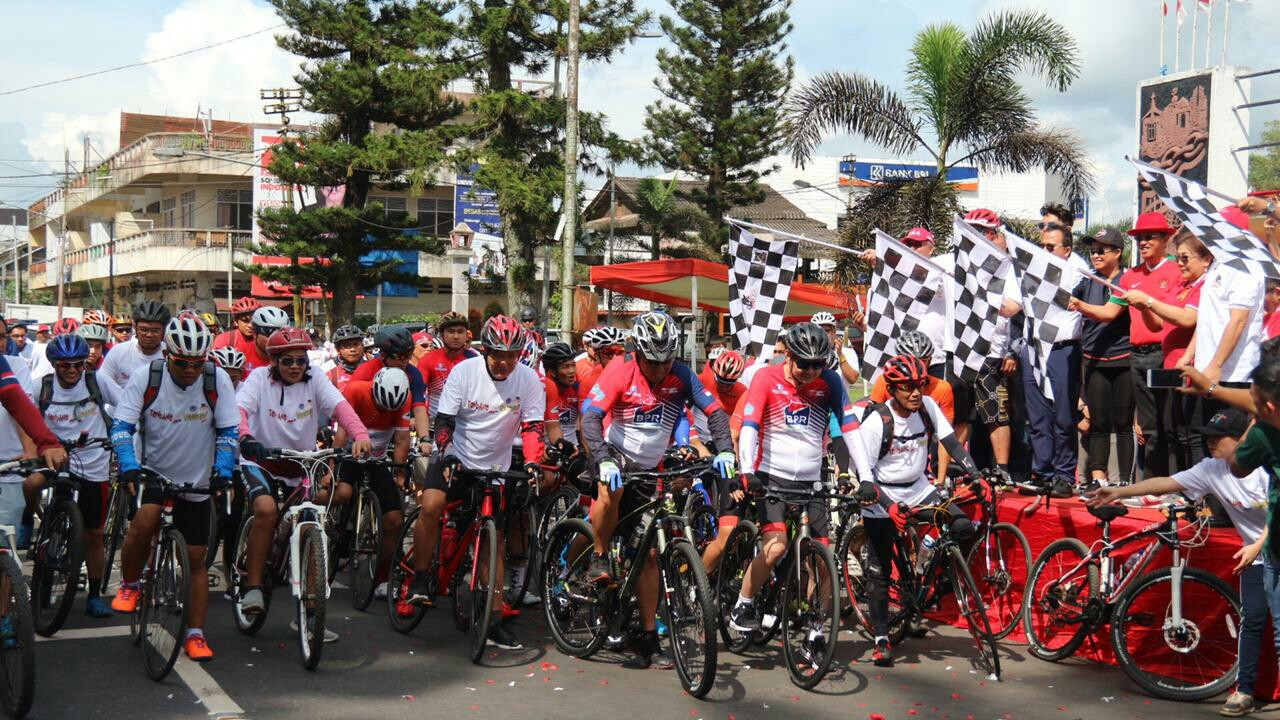 Minahasa Fun Bike dan Sulut Bersepeda, Sukses Digelar GPPMP