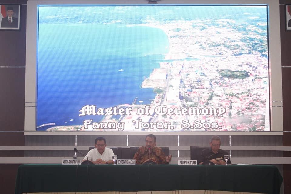 Sekda Lakat Buka Larwasda Kota Manado Tahun 2018