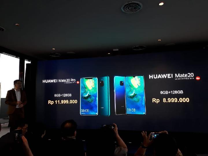 Ini Spesifikasi dan Harga Huawei Mate 20 Series Terbaru