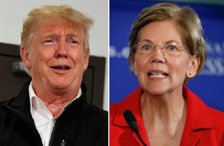 Elizabeth Warren Penantang Baru Donald Trump dari Demokrat Menuju Pilpres Amerika Serikat