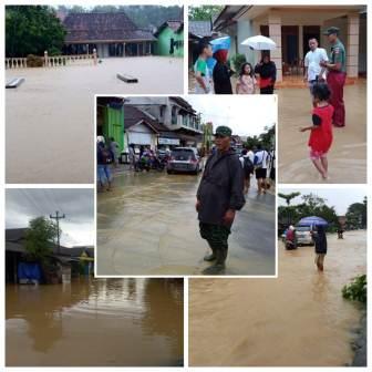 Banjir Melanda Wilayah Kayen, Warga Diminta Ekstra Hati – hati