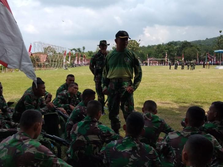Prajurit TNI Hindari Pelanggaran, Iklas dan Jangan Sakiti Hati Rakyat