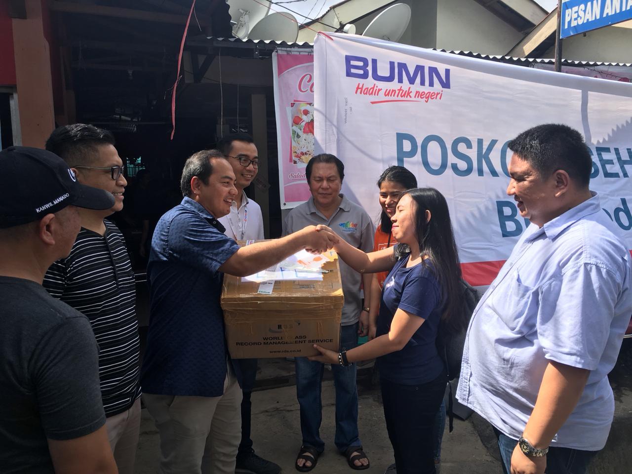 IWO Sulut Apresiasi Giat IWO Manado-BNI Bantu Korban Bencana