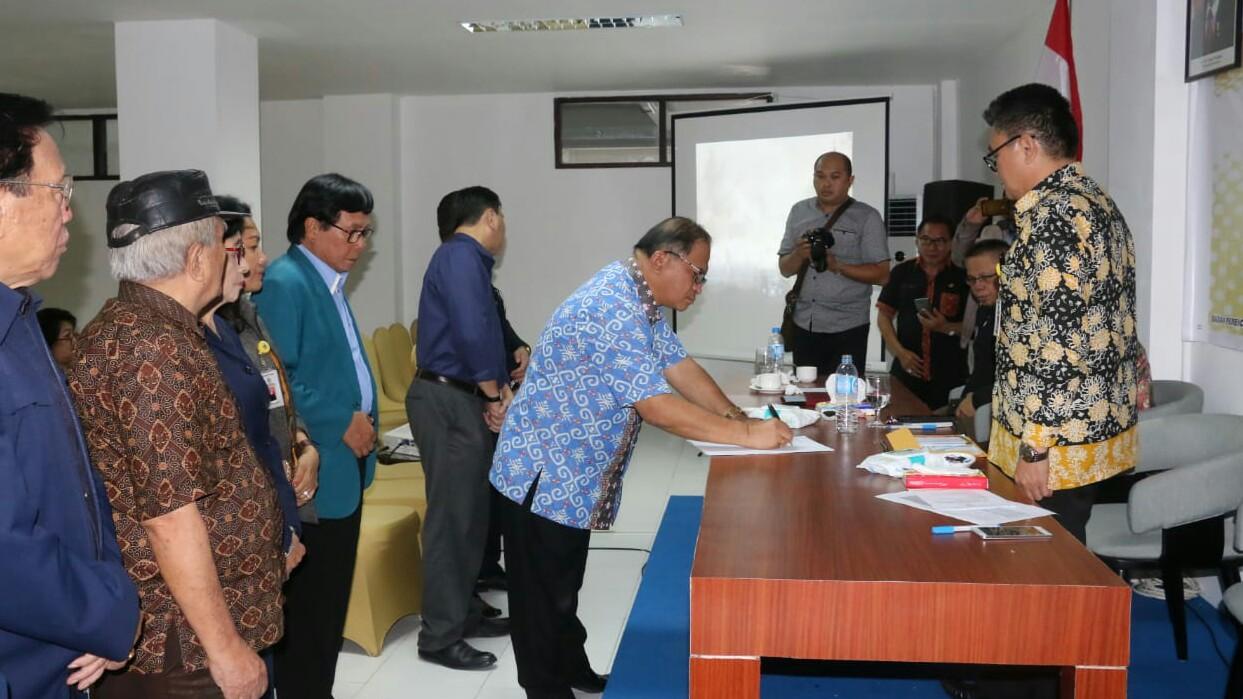Lolowang Tandatangan Hasil Konsultasi Publik RKPD 2020