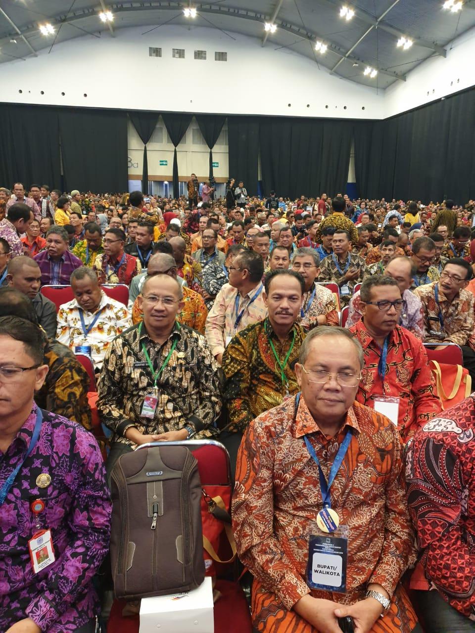 Sekda Bolmut Hadiri Rakornas Investasi Tahun 2019 Di Jakarta