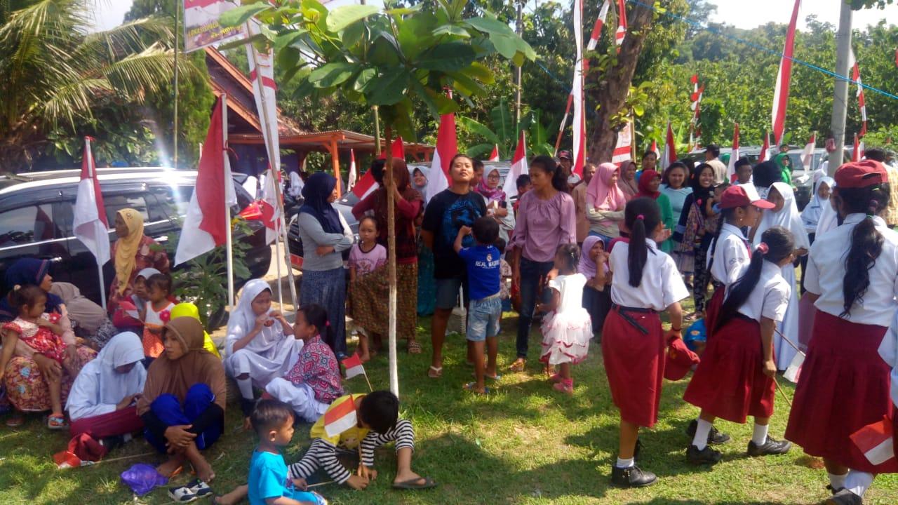 Lapangan Jurangjero Lokasi Penutupan TMMD Dibanjiri Warga